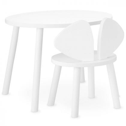 Nofred® Lesen otroški stolček Mouse White (2-5 let)