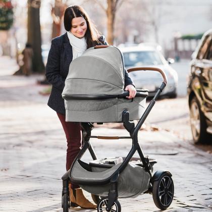 Nuna® Otroški voziček 3v1 Demi™ Grow Oxford + Pipa™ Next i-Size 0+ Frost