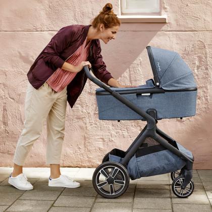 Nuna® Otroški voziček 3v1 Demi™ Grow Aspen + Pipa™ Next i-Size 0+ Frost