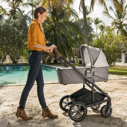Nuna® Otroški voziček 3v1 Mixx™ Next Granite + Pipa™ Next i-Size 0+ Frost