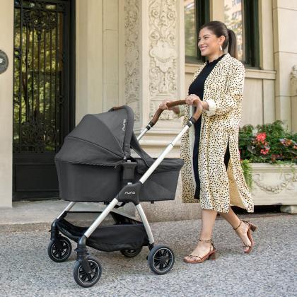 Nuna® Otroški voziček 2v1 Triv™ Ebony