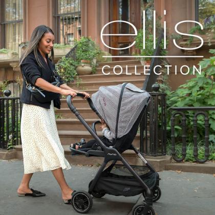 Nuna® Otroški voziček 2v1 Triv™ Ellis Lim.Ed.