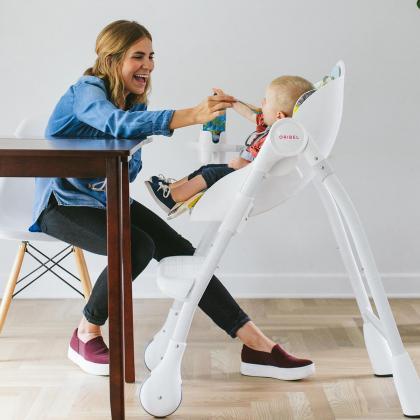 Oribel® Cocoon™ Otroški stolček za hranjenje Pistachio Makaron