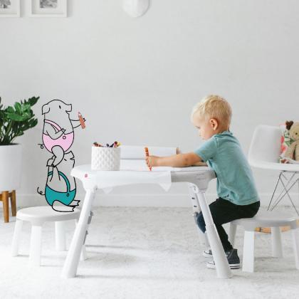 Oribel® Portaplay™ Otroški stol Wonderland
