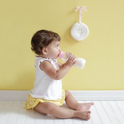 Pearhead® Otroški odtis za spomin White