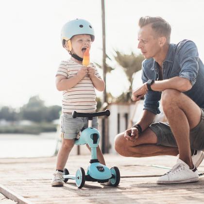 Scoot&Ride® Otroška čelada XXS Blueberry