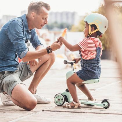 Scoot&Ride® Otroška čelada XXS Kiwi