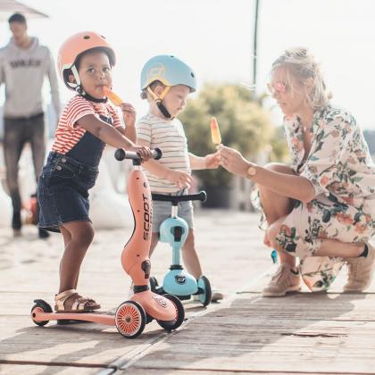 Scoot&Ride® Otroška čelada XXS Peach