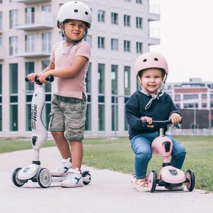Scoot&Ride® Otroška čelada XXS Rose