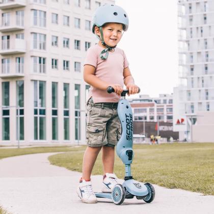 Scoot&Ride® Otroška čelada XXS Steel