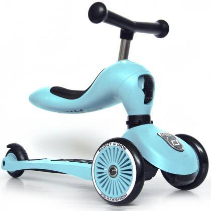 Scoot&Ride® Otroški poganjalec in skiro Highwaykick 1 Blueberry