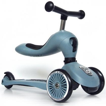 Scoot&Ride® Otroški poganjalec in skiro Highwaykick 1 Steel