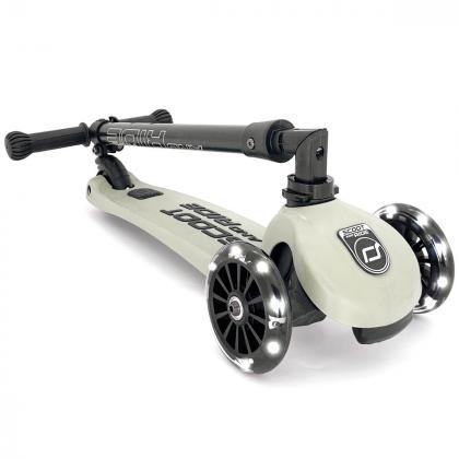 Scoot&Ride® Otroški skiro Highwaykick 3 LED Ash