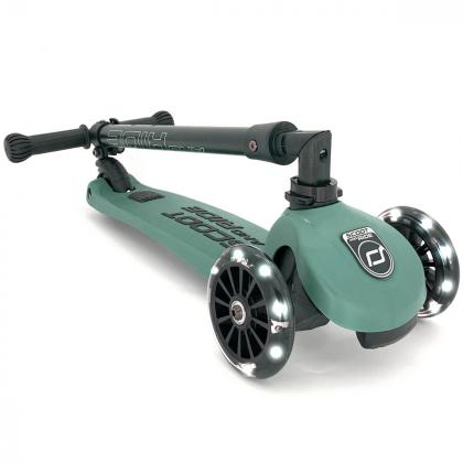 Scoot&Ride® Otroški skiro Highwaykick 3 LED Forest