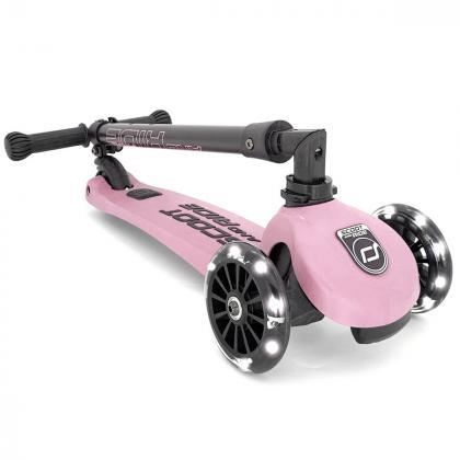 Scoot&Ride® Otroški skiro Highwaykick 3 LED Rose
