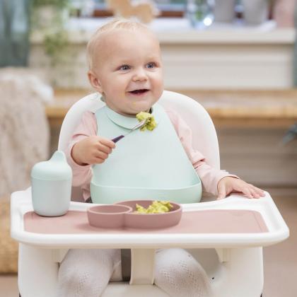 Stokke® Jedilni set za malčke Munch™ Essentials Soft Mint (3-delni set)