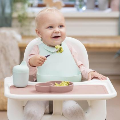 Stokke® Jedilni set za malčke Munch™ Everyday Soft Mint (4-delni set)