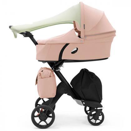 Stokke® Košara za novorojenčka Xplory® V6 Balance Pink Lim.Ed.