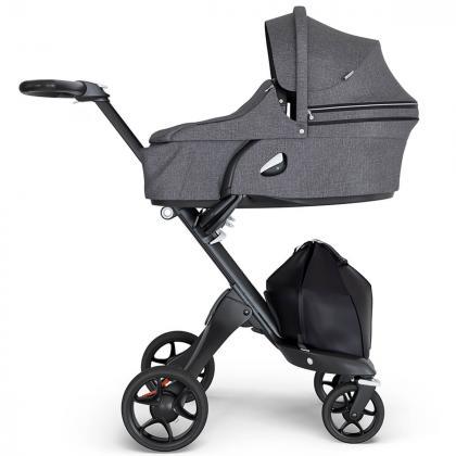 Stokke® Košara za novorojenčka Xplory® V6 Black Melange