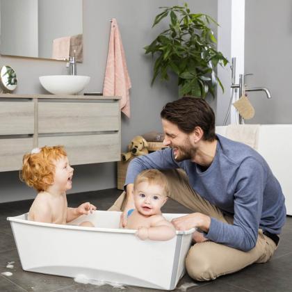 Stokke® Otroška banjica Flexi Bath® X-Large Transparent Blue