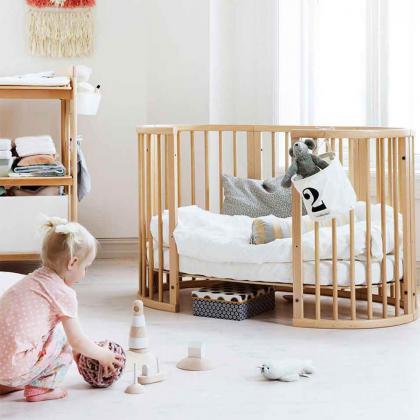 Stokke® Otroška posteljica Sleepi™ Bed z vzmetnico Natural