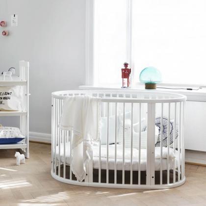 Stokke® Otroška posteljica Sleepi™ Bed z vzmetnico White