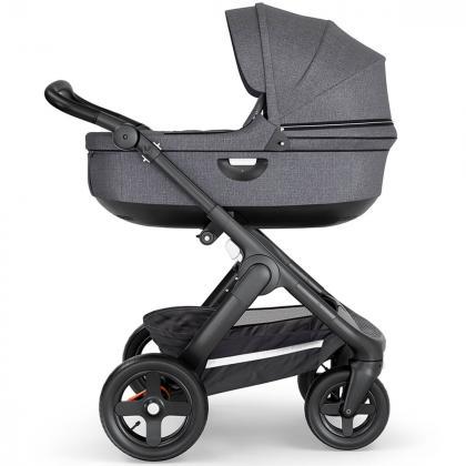 Stokke® Otroški voziček Trailz™ Black Melange/Black Handle