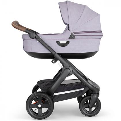 Stokke® Otroški voziček Trailz™ Brushed Lilac/Brown Handle