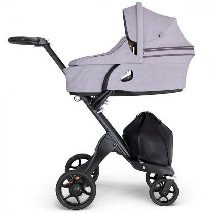 Stokke® Otroški voziček Xplory® V6 Brushed Lilac/Brown Handle