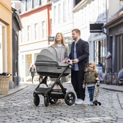 Stokke® Rolka za otroški voziček Trailz™ Black