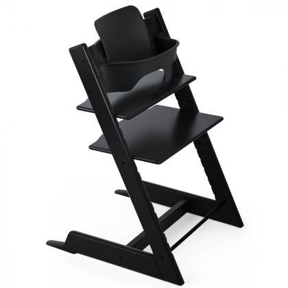 Stokke® Varovalo za stol Tripp Trapp® Baby Set Black