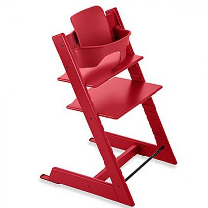 Stokke® Varovalo za stol Tripp Trapp® Baby Set Red