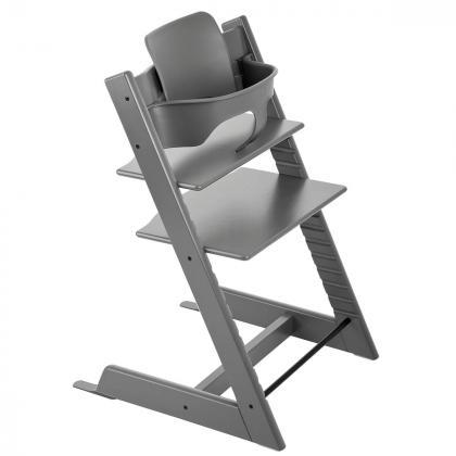 Stokke® Varovalo za stol Tripp Trapp® Baby Set Storm Grey