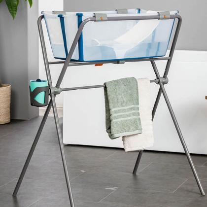 Stokke® Zložljivo stojalo za banjico Flexi Bath® Grey