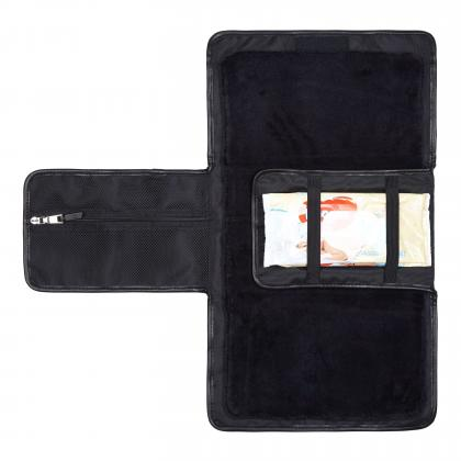 Tiba+Marl® Prenosna previjalna podloga Etta Nylon Black