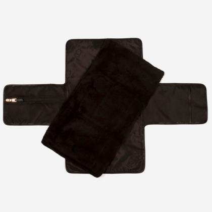 Tiba+Marl® Prenosna previjalna podloga Etta Nylon Mono Leopard