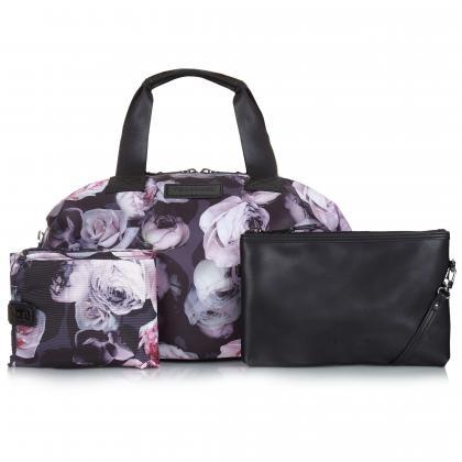 Tiba+Marl® Previjalna torba Raf Holdall Nylon Goth Floral