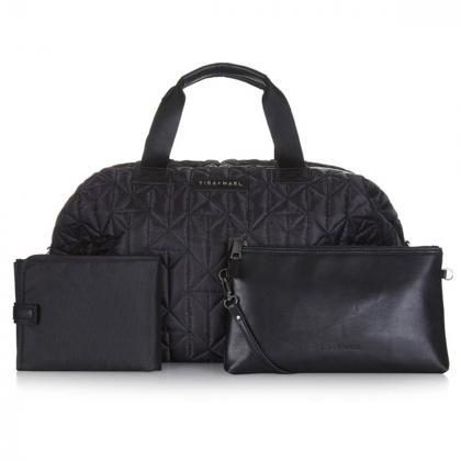 Tiba+Marl® Previjalna torba Raf Weekender Nylon Black