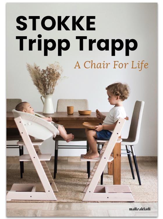 Stokke Tripp Trapp Kultni stolček Stokke Tripp Trapp spremlja generacije. Otroški stolček za novorojenčke, dojenčke, malčke, otroke in odrasle. Prvi stolček za hranjenje, za ustvarjanje in učenje je popoln dodatek za otroško sobo, pisalno mizo ali družinsko omizje.