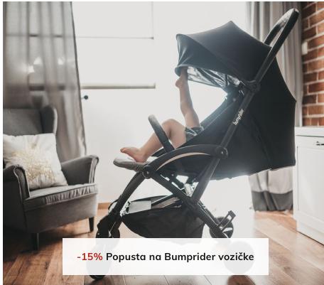 -15% Popusta na Bumprider vozičke